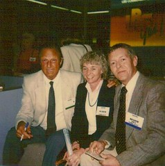 Bob & Pat with Stan Musial - 1989