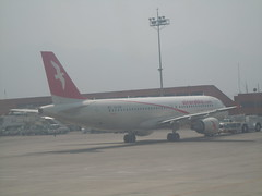 A6-ABR Air Arabia Airbus A320-214 (orclimber) Tags: plane airport air ktm international airbus arabia tribhuvan a320214 a6abr