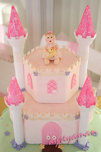 Prensesli Şatolu Pasta