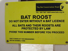 Bat Roost (John of Witney) Tags: sign nationaltrust bats tyntesfield batroost