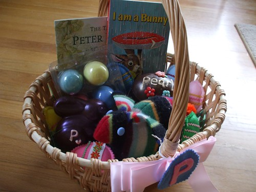 Pearl's Easter basket