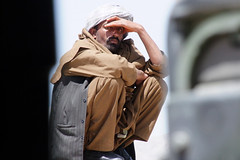 Waiting in the Sun (AfghanistanMatters) Tags: afghanistan man afghan