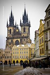 Church of Our Lady Before Tn, Staromstsk Nmst (MM_Andamon) Tags: winter nikon europe prague czechrepublic d200 civicsquare oldtownsquare easterneurope nikond200 staromstsknmst 18200mmvr churchofourladybeforetn religioussquare