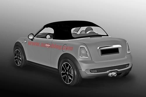 MINI Roadster Patent drawing