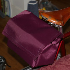 The shell of a saddlebag (prototype #1)