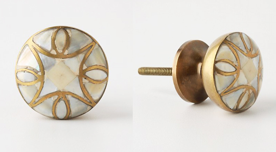 mother of pearl knobs