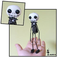 Jack Skellington (MATU-K) Tags: jack felt jackskellington nightmarebeforechristmas fieltro halloweentown