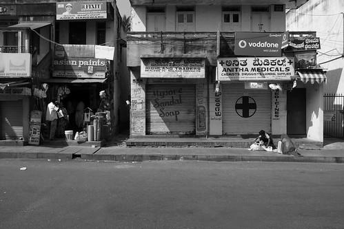 Early Morning in Gandhi Bazaar