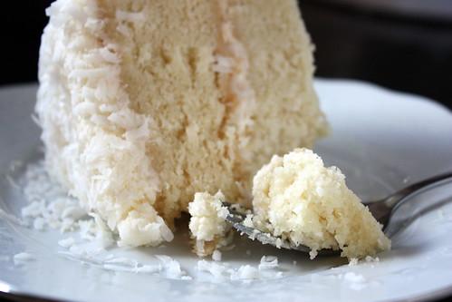Southern Coconut Cake bite