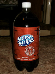 Stars & Stripes generic brand soda