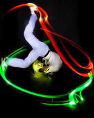 dance motions (Ben Canales) Tags: longexposure light lightpainting port