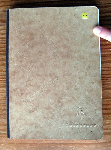 Clairefontaine notebook/ink journal