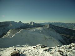 天狗岳山頂より、南アルプスを遠望