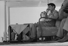 Hussein Ibn Talal [RF: Jordan RF];Saud Ibn Abdul Aziz [RF: Saudi Arabia RF] (K_Saud) Tags: king watching battle east jordan saudi arabia middle foreign abdul hussein talal rf aziz ibn relations simulated saud timeincown maneuvers abdula 934980