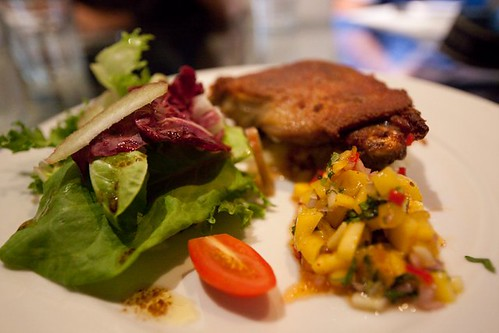 Duck Confit with Apple Roesti by J-Chan