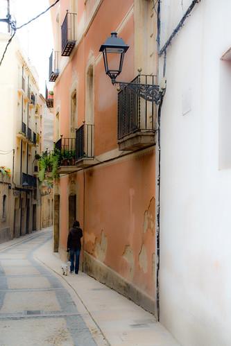 Calles de Tarragona Foto