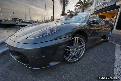 Ferrari F430 Spider At Banus :: HDR :: DRI