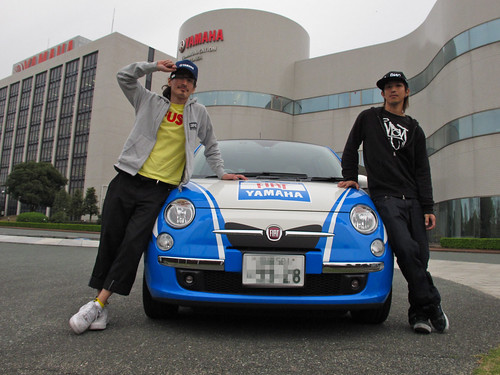 100419 伯爵を追え!@FIAT Yamaha Team