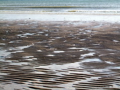 Dizziness..... (Dr_Tariq) Tags: uk sea beach water sand pattern steps eastbourne tariq sandwaves
