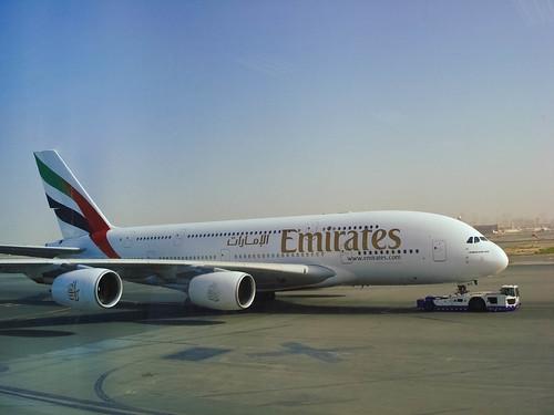A380 no Aeroporto de Dubai (by Pedro Angelini)