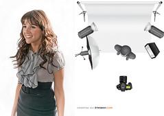 Side By Side #1 (Arclight Images) Tags: usa fashion newjersey model glamour ecru strobox lightingdiagram