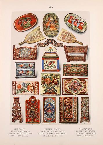 013-Alemania-Fraancia-Paises Bajos y Austria siglos XVIII al XIX-Ornament two thousand decorative motifs…1924-Helmuth Theodor Bossert