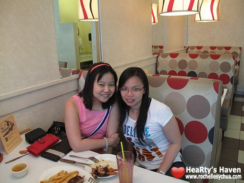 HeaRty & christina at burgoo