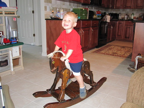 Jonathan on the Rocking Horse