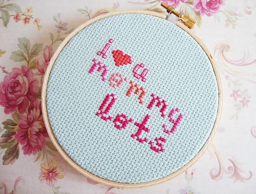 i <3 u mommy lots