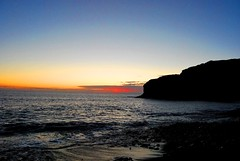 Veneguera (Mariano Rupérez) Tags: grancanaria azul mar canarias arena cielo naranja ocaso horizonte piedras veneguera