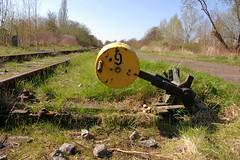 Bundesbahn Verfall (horseandbikeride) Tags: ruin railway german breakdown deutsche wilhelmshaven stille schienen weiche heuschrecken reserven schienennetz investoren bundsbahn