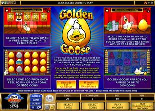 free Golden Goose Crazy Chameleons bonus feature