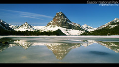 The Parks Project - Two Medicine (The Parks Project) Tags: park mountain lake reflection ice peak glacier ridge national
