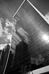 curvy (Barry Yanowitz) Tags: nyc newyorkcity blackandwhite bw ny newyork reflection building buildings reflections blackwhite manhattan midtown nycity solowbuilding