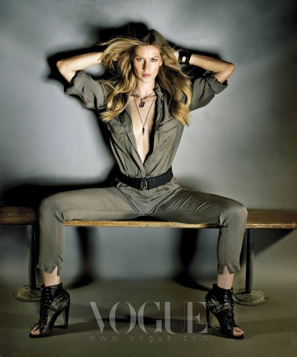 VOGUE  GISELE BUNDCHEN by NINO MUNOZ  6