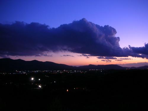 Un atardecer en Montecarlo
