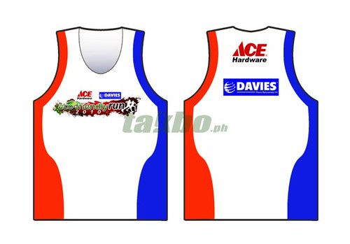 eco friendly run 2010 singlet design