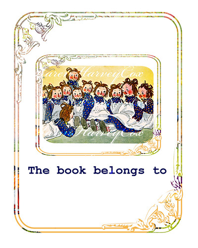 Raggedy Ann Bookplate with watermark final