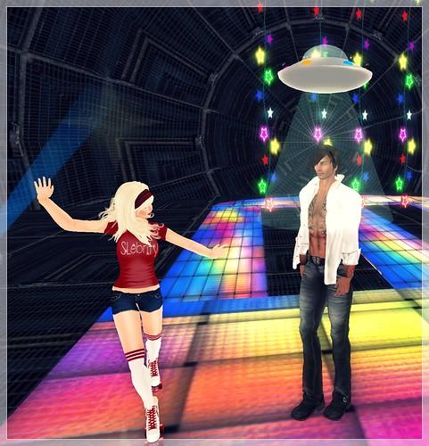 Ahh! UFO!