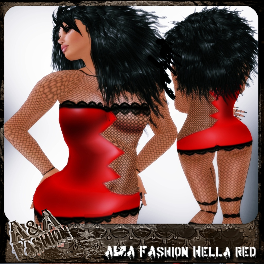 A&A FAshion Hella Red