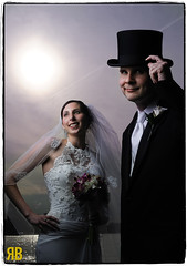 Sunny Day Stylin' (Ryan Brenizer) Tags: wedding portrait boston groom bride nikon flash strobist d3s nostrobistinfo 60mmf28g remo