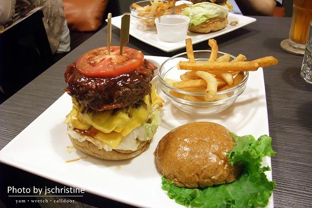 BBQ培根漢堡(雙層)