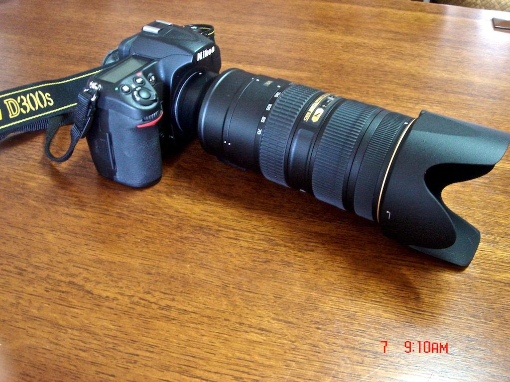 D300S and Nikon 70-200 f/2.8 VRII