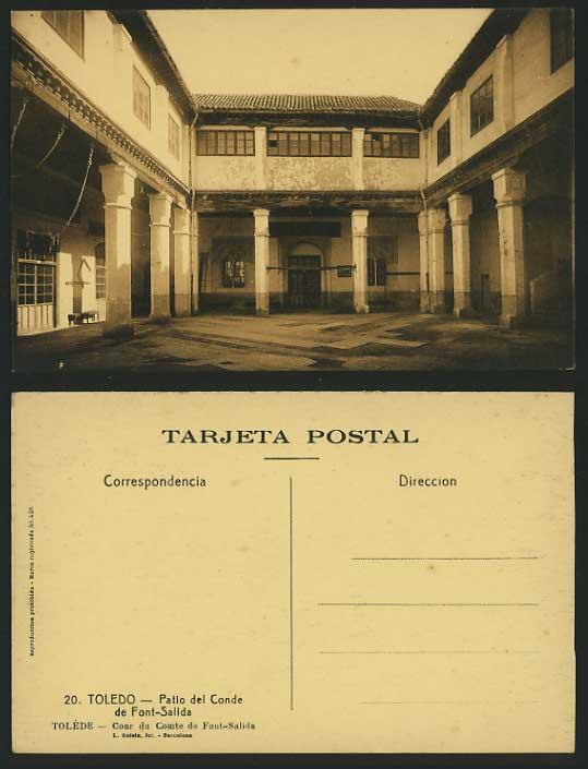 Palacio de Fuensalida a comienzos del siglo XX. Foto Roisin