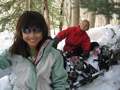 Snowshoes (Aspen Center for Environmental Studies) Tags: winter kids snowshoe aspenmountain