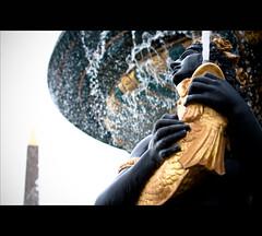 Fontaine des Mers (seas fountain) (Olivier Landreau aka lepopov) Tags: paris france water 50mm dof concorde canon50mm14usm canoneos450d concordians seasfountain