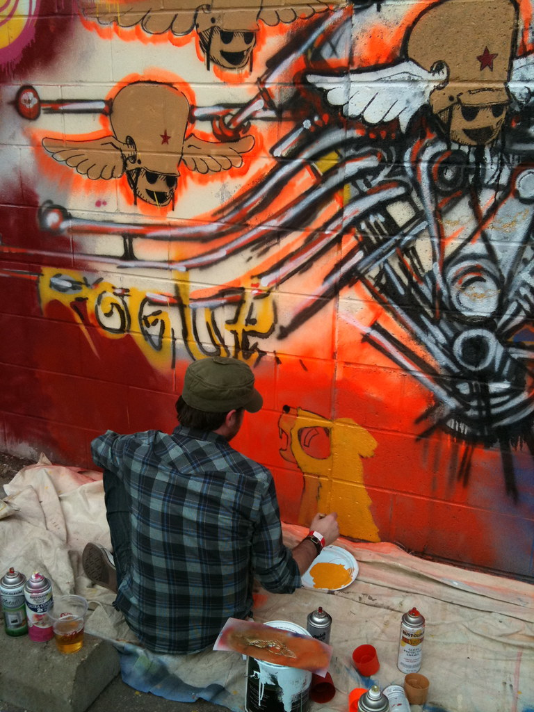 Rogue Citizen mural