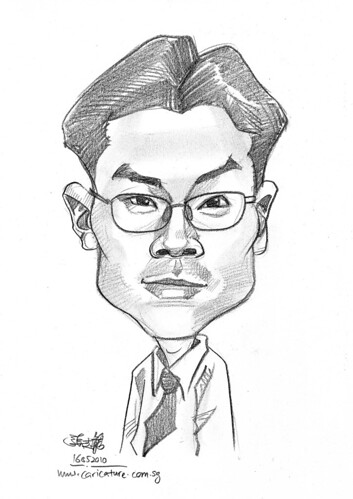 caricature for Hello Technology - 15