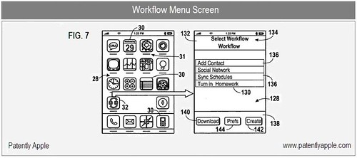 Workflow Menu Screen