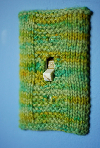 Garter Strip Light-switch Cover